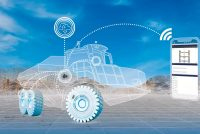 Sistemul TPMS de monitorizare a anvelopelor, prezentat de Trelleborg la Bauma 2019