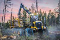 Eco Log trece la un alt nivel odată cu noua Serie F de utilaje forestiere