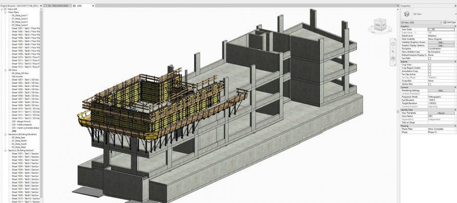 DokaCAD pentru Revit – planificarea productivă a cofrajelor în BIM