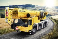 Liebherr unveils the new LTM 1120 4.1 at Conexpo 2020 in Las Vegas