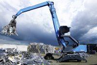 Excavatoarele pentru manipularea materialelor – uriașii care mută și sortează în industrie (I)