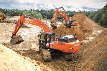 Hitachi a lansat gama de excavatoare Zaxis-7 de clasă medie