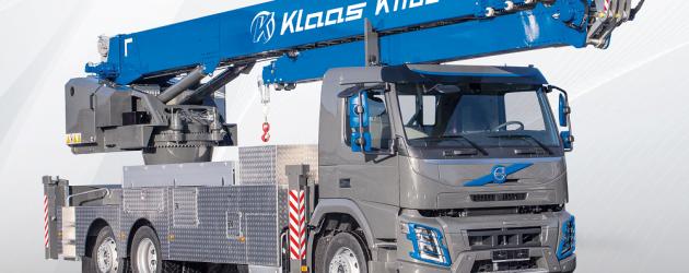 Klaas prezintă noua automacara cu braț din aluminiu K1100 RSX