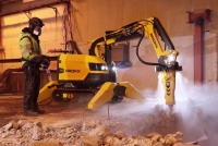 Brokk introduces atomized water mist system for optimized jobsite safety