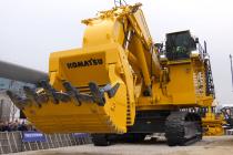 Excavatorul hidraulic minier PC4000‐11, actualizat și expus de Komatsu anul trecut la Bauma