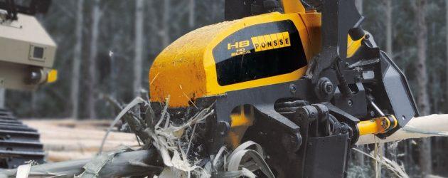 Ponsse lansează noul cap de recoltat H8HD Euca pentru procesarea arborilor de eucalipt