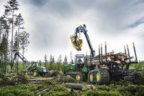 Noile geamuri de cabină ale harvesterelor și forwarderelor John Deere respectă standardul de protecție ISO 21876