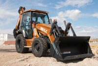 "Case has unveiled ""Project ZEUS"" — the industry's first fully electric backhoe loader"