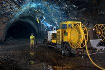 Epiroc va renunța la linia sa de utilaje de pulverizare a betonului