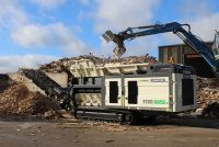 High capacity shredding with new TDS 825 slow speed shredder