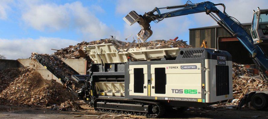 Terex Ecotec propune un nou tocător de mare capacitate: TDS 825