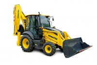 Komatsu Europe announces WB97R-8 backhoe loader