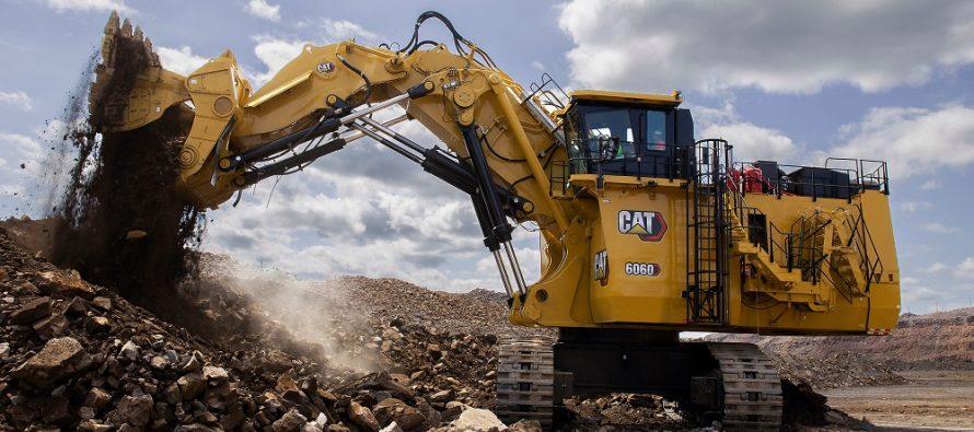 Excavatorul hidraulic minier Cat 6060 de nouă generație este acum și mai performant