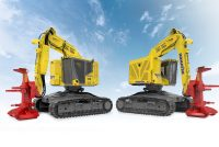 Komatsu's new XT465L-5 sets high industry standards for Track Feller Bunchers