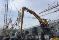 Liebherr innovations for port operation – the LH 110 C Gantry Port with electric drive