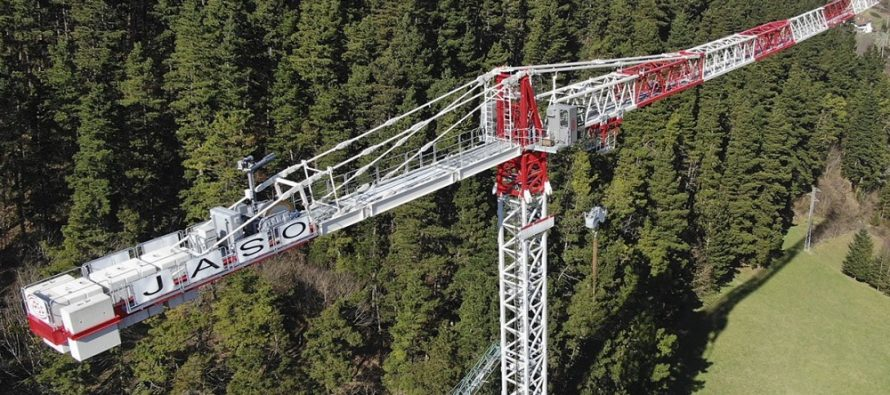 JASO presents the new J800.48, its second-largest crane