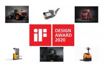 iF Design 2020 premiază inovația în designul utilajelor, echipamentelor și camioanelor