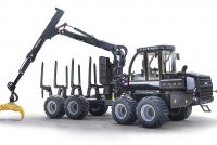 Versatile Logset 5F GT forwarder is renewed