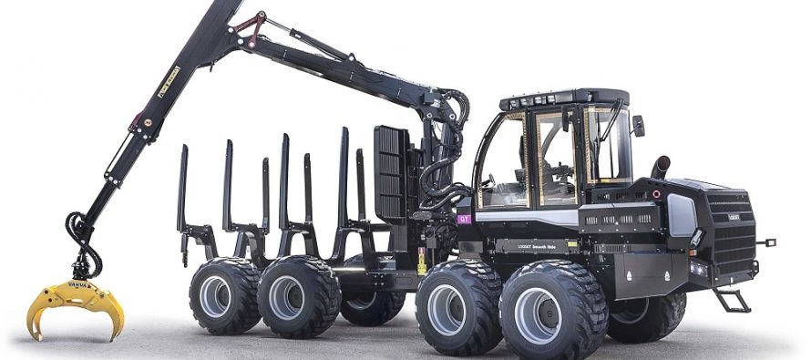 Versatilul forwarder Logset 5F GT a fost modernizat