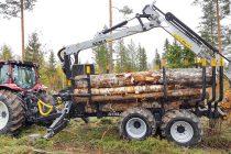 Omologare europeană pentru semiremorcile forestiere Kesla pentru tractoare
