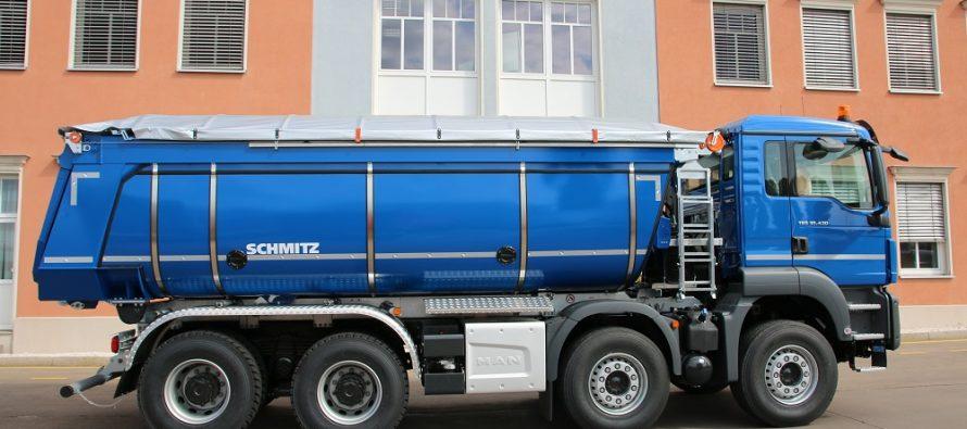 Schmitz Cargobull își extinde oferta de suprastructuri basculabile cu izolație termică