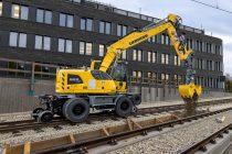 Excavatorul Liebherr A 922 Rail Litronic de generație nouă