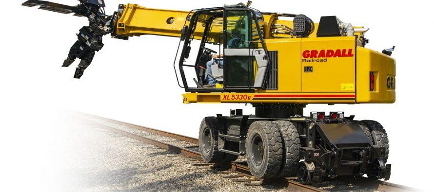 Gradall introduce modelul XL 5330V TrackStar, cu rază de lucru extinsă și capacitate mai mare de ridicare