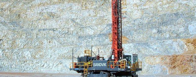 Sandvik adaugă foreza rotativă minieră DR410i în gama sa iSeries