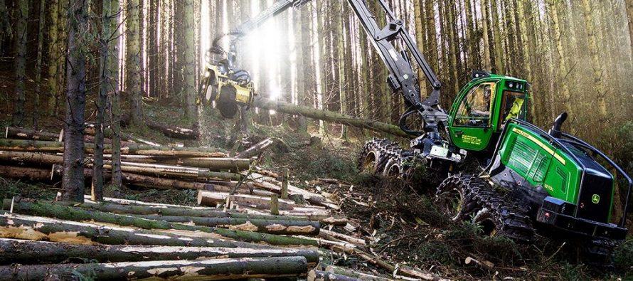 Timo Ylänen, numit vicepreședinte al diviziei internaționale de utilaje forestiere Deere & Company