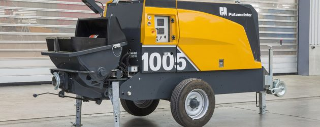 Putzmeister a revizuit seria BSA 1000 de pompe de beton