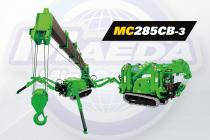 Maeda lansează minimacaraua păianjen MC285CB-3 complet electrică