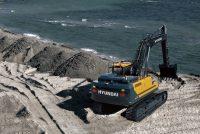 Hyundai a adăugat excavatorul HX300AL în noua serie A