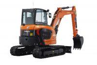 Kubota has recently introduced three new mini-excavators to its 5-tonne range