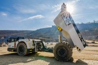 GHH setting new standards in mining machinery with the use of biodegradable hydraulic fluids