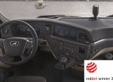 New MAN Truck Generation driver's workplace wins in the Red Dot Award