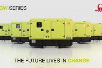 Pramac lansează noua linie de generatoare diesel staționare: seria GDW