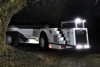 Bell a dezvoltat o nouă generație de camioane articulate cu profil redus pentru aplicații subterane