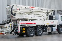 Sany as Putzmeister's secondary brand in Europe for mobile concrete pumps