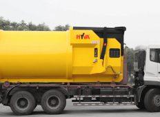 Linia de management al deșeurilor de la Hyva