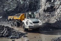 Liebherr a prezentat în premieră mondială noua sa generație de camioane articulate