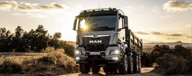 Noua generație de camioane MAN pentru uz în construcții și în condiții de off-road