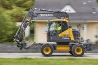 Noul excavator pe roți Volvo EWR130E rescrie regulile în clasa compactă