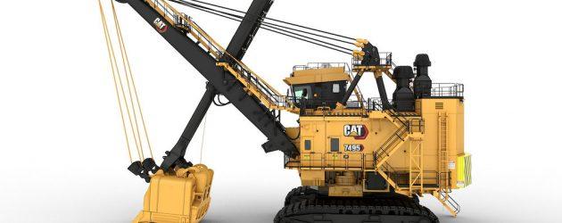 În 2021, excavatoarele miniere Cat 7495 vin cu upgrade-uri care le cresc eficiența și reduc costul per tonă