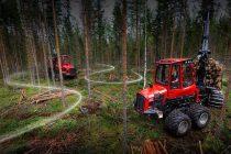 Noile utilaje forestiere prezentate de Komatsu pentru 2021
