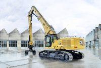 Noul excavator pentru demolări la înălțime Cat 340 UHD, acum cu o mai mare flexibilitate de configurare