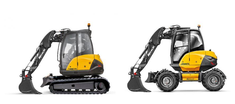 Mecalac lansează o nouă configurație de braț din două piese pentru excavatoarele 6MCR și 7MWR