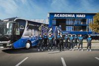 MHS Truck & Bus Group a livrat un nou autocar MAN Lion's Coach echipei de fotbal FC Viitorul