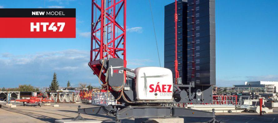 Sáez Cranes a lansat noua macara telescopică autoridicătoare HT47