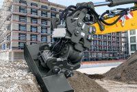 Liebherr extinde gama de aplicații a excavatoarelor pe roți și pe șenile cu un nou atașament