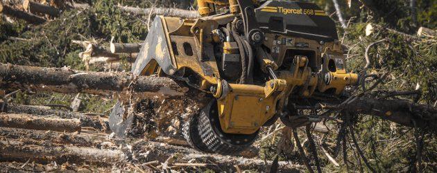 Tigercat își extinde gama de capete de recoltare odată cu noul 568